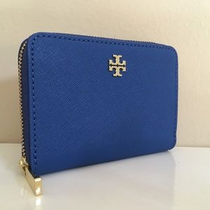 TORY BURCH NWT EMERSON ZIP COIN CASE